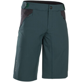 ION Traze AMP Shorts ciclismo Hombre, green seek